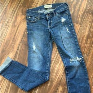 Abercrombie Kids 14 slim cut jeans
